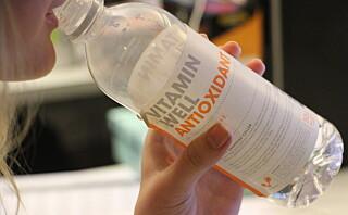 Er det noe vits i å drikke vitaminvann?