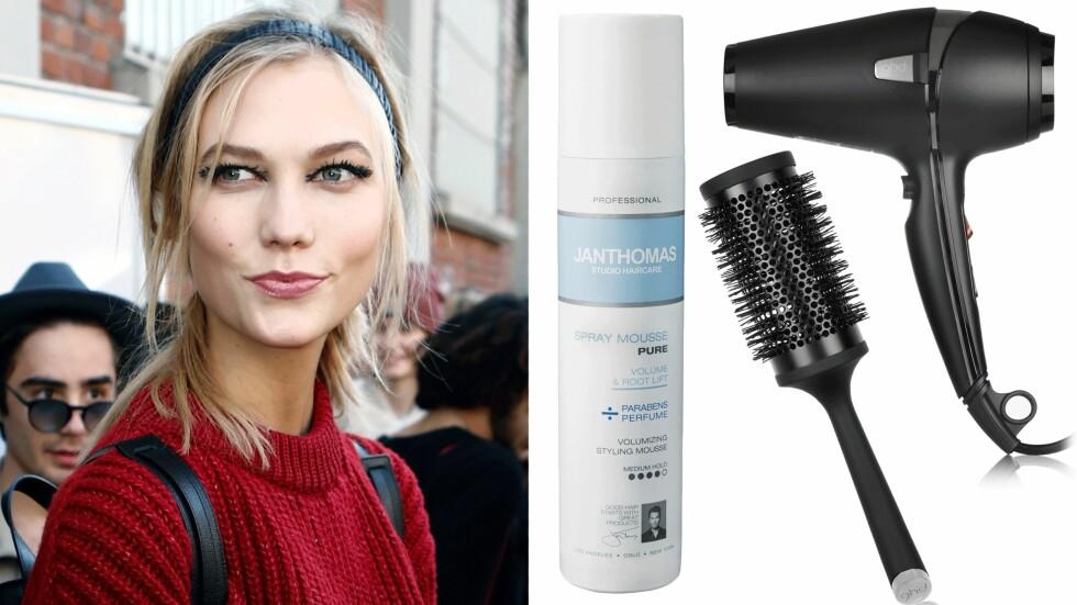 <strong>HÅRTABBER:</strong> Det kan være du du har tykkere hår enn du tror om du begår noen av disse hårtabbene. Foto: All Over, Produsentene, Net-a-porter.com