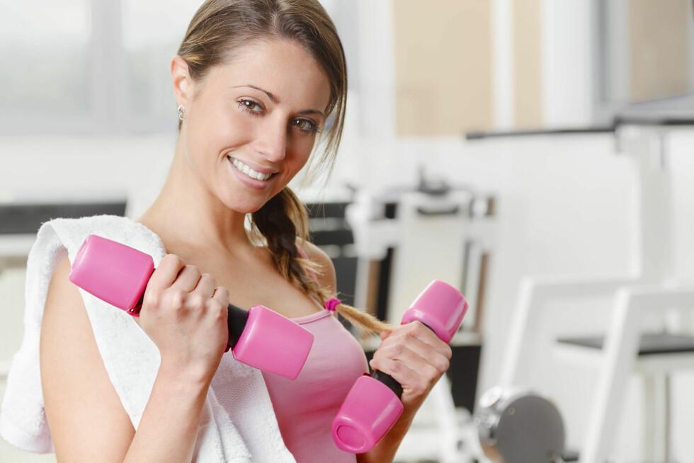TRENING: For mange er trening blitt en måte å vise at de har selvkontroll. Foto: Fotolia