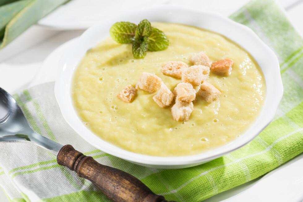 VINTERMAT: Purresuppe er perfekt mat å varme seg på nå om vinteren.  Foto: 135pixels - Fotolia