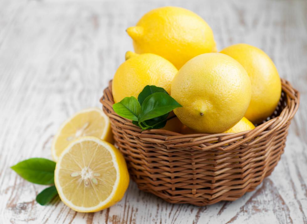 SITRON:  Sitron inneholder limonin som ser ut til å ha spesielle kreftforebyggende egenskaper.  Foto: Es75 - Fotolia