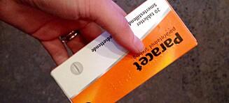 Vil fjerne paracetamol fra svenske butikkhyller