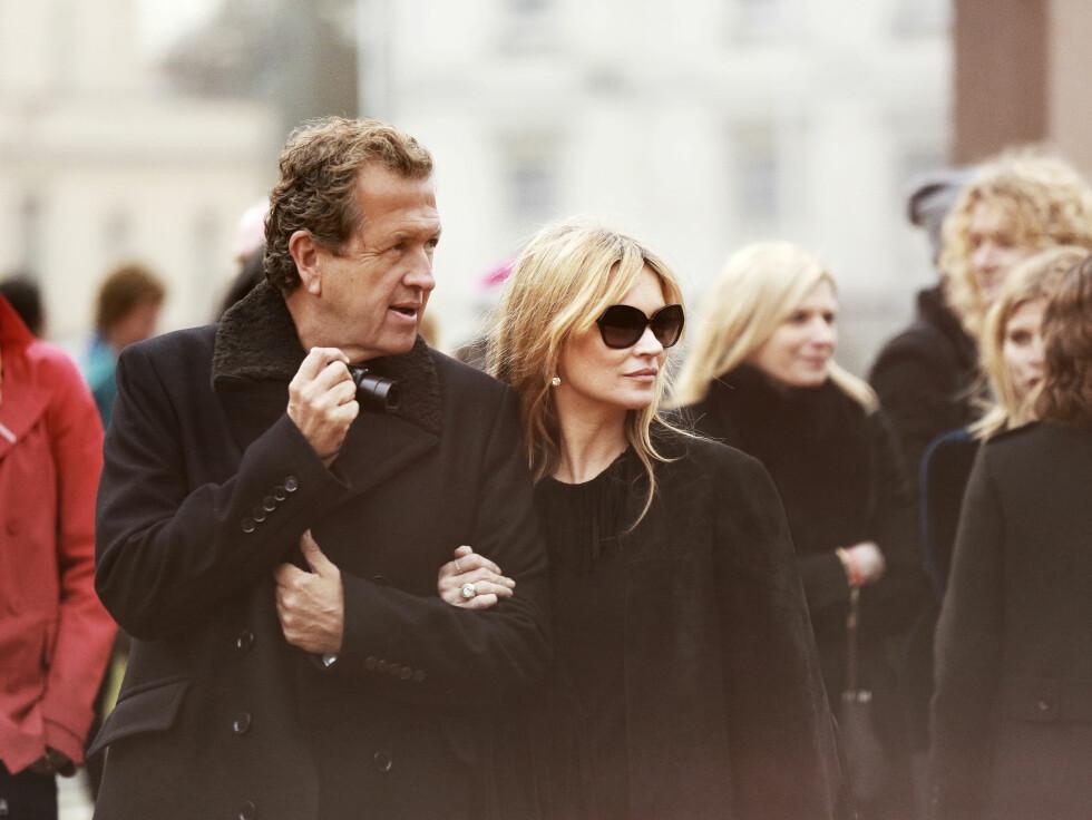 BURBERRY: Mario Testino og Kate Moss. Foto: Burberry