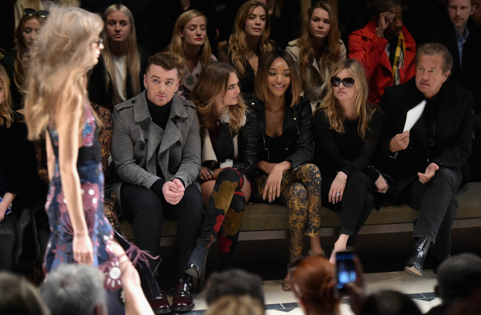 CATWALK: Burberry AW15. Foto: Getty Images for Burberry