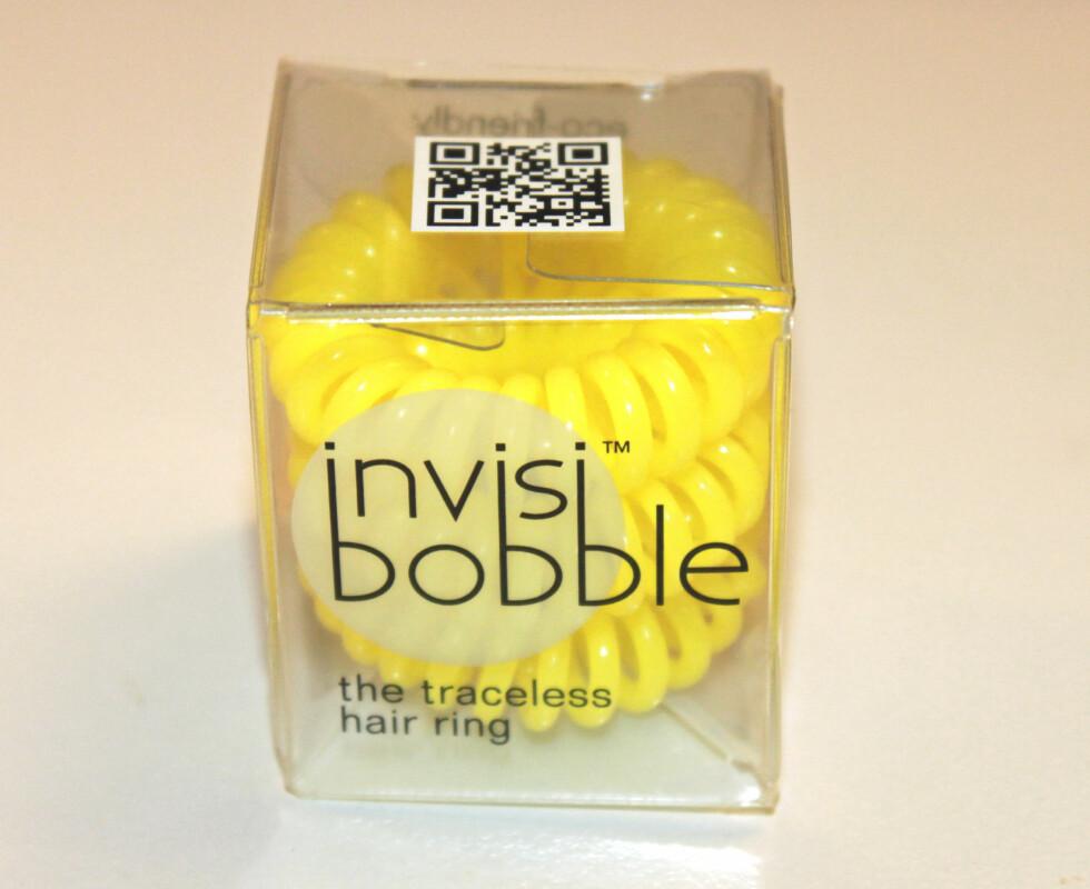 HÅRSTRIKK: Invisibobble kommer i en rekke spenstige farger.  Foto: KK