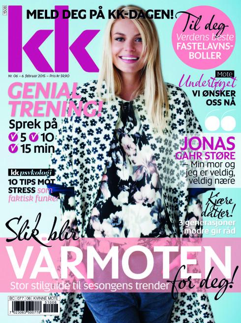 Jonas Gahr Støre er portrettert i KK6, i salg fra 6. februar