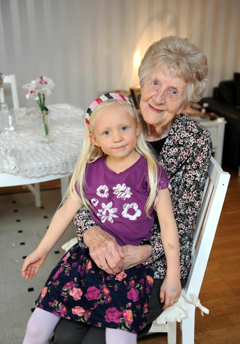 Mormor reddet Hanne da mamma ruset seg