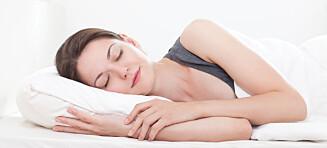 3 ting som gjør at du sover bedre