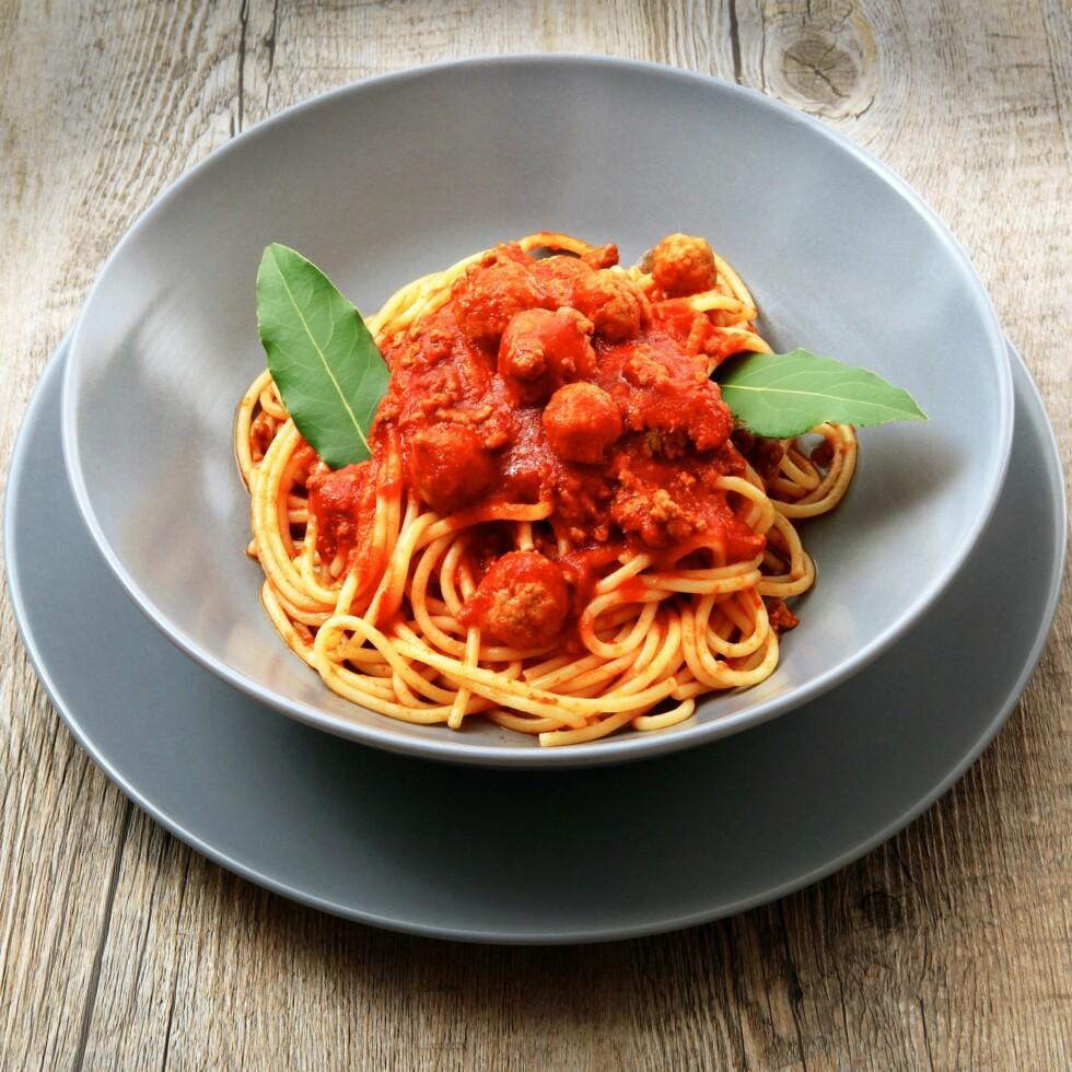 INNEHOLDER SUKKER: Visste du at tomatsaus kan inneholde flust med sukker?  Foto: Giuseppe Porzani - Fotolia