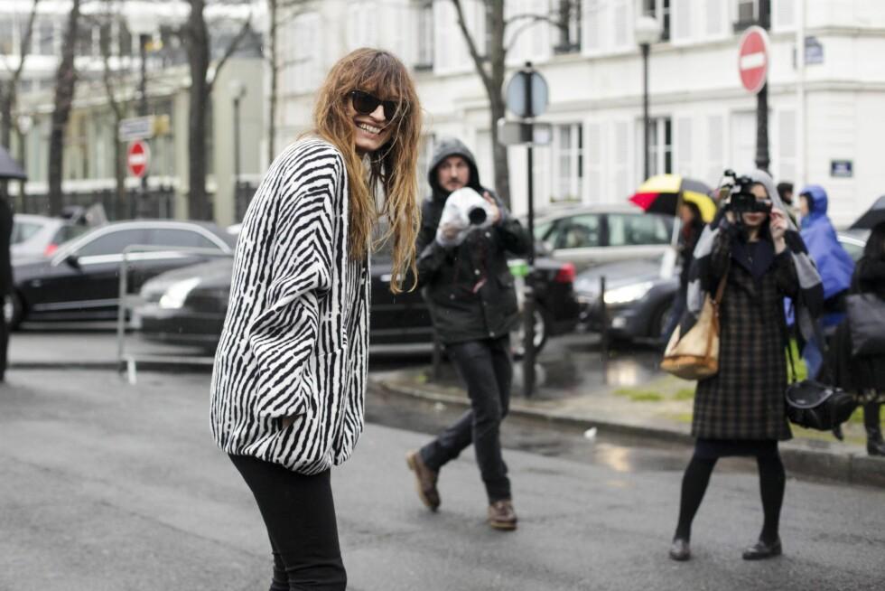 Caroline De Maigret under moteuken i Paris i 2014  Foto: imago/PanoramiC/All Over Press
