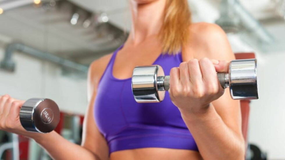 BRA FOR SKJELETTET: Styrketrening er bra for skjelletet vårt. Foto: Fotolia