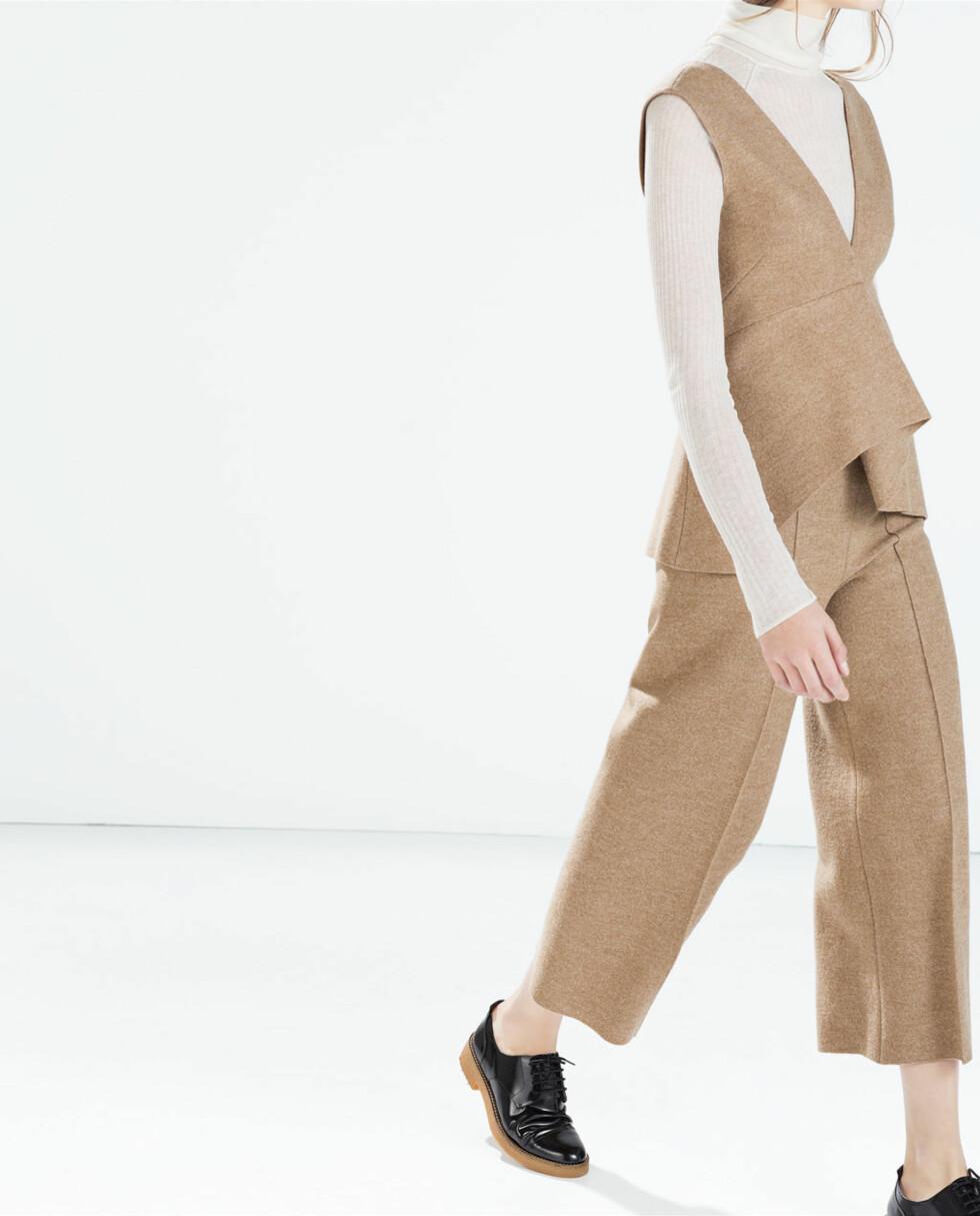 Bukse fra Zara, salgspris 179 kr. Foto: Produsenten.