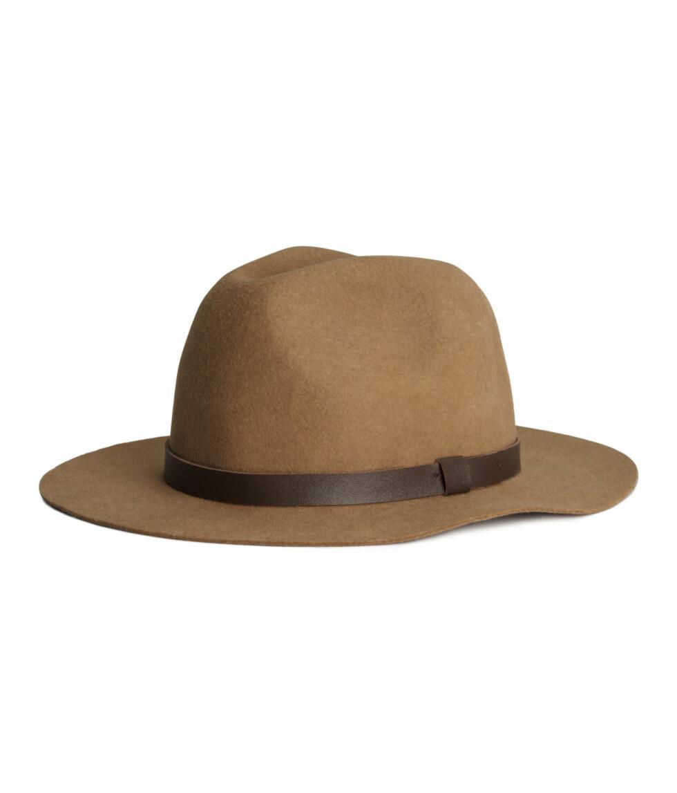Hatt fra H&M, 199 kr. Foto: Produsenten.