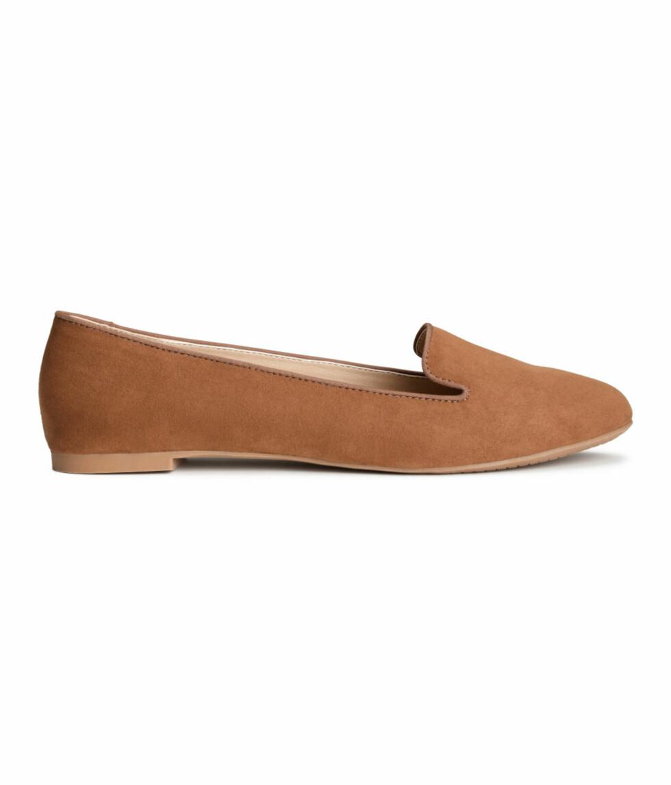 Loafers fra H&M, 129 kr. Foto: Produsenten.