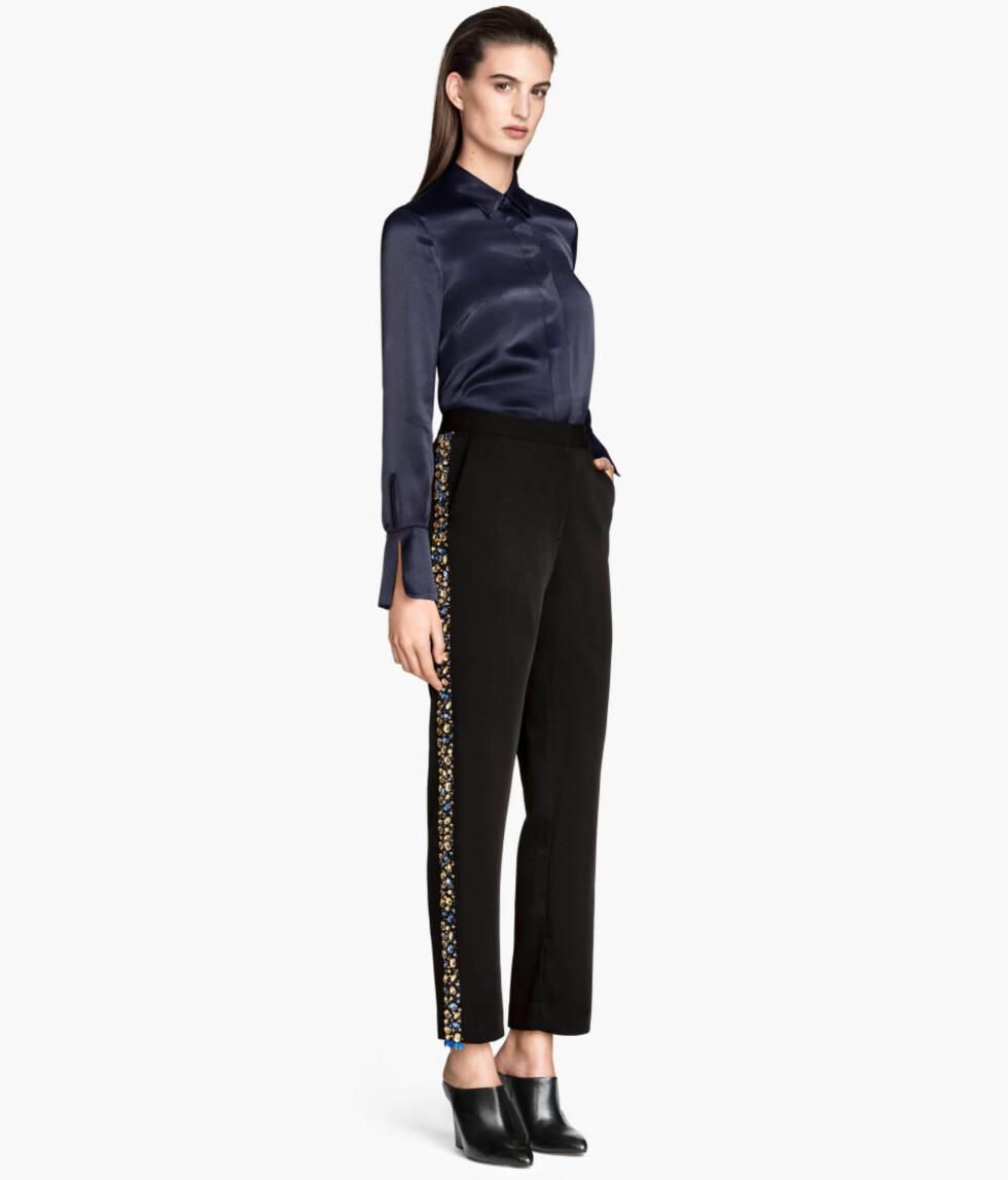 Bukser fra H&M, kr 499.  Foto: Produsentene