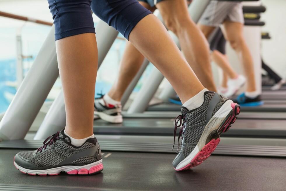 START ROLIG: Enten det er tre uker eller tre år siden du trente sist, trapp gradvis og forsiktig opp treningen.  Foto: All Over Press