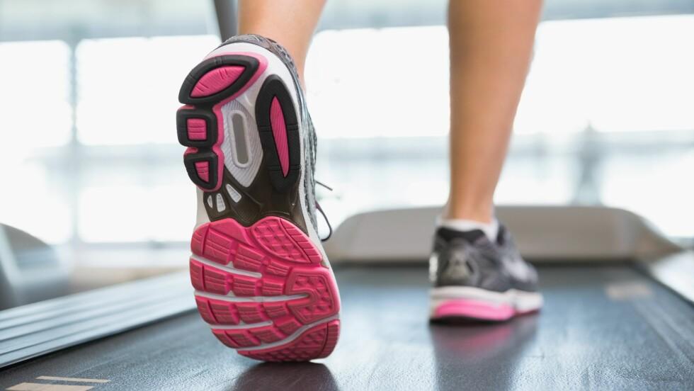 TRENINGSSKADER: Akillessenen bak på hælen er blant de vanligste kroppsdelene å skade i forbindelse med trening, ifølge fysioterapeut Kjersti Larsen.  Foto: All Over Press