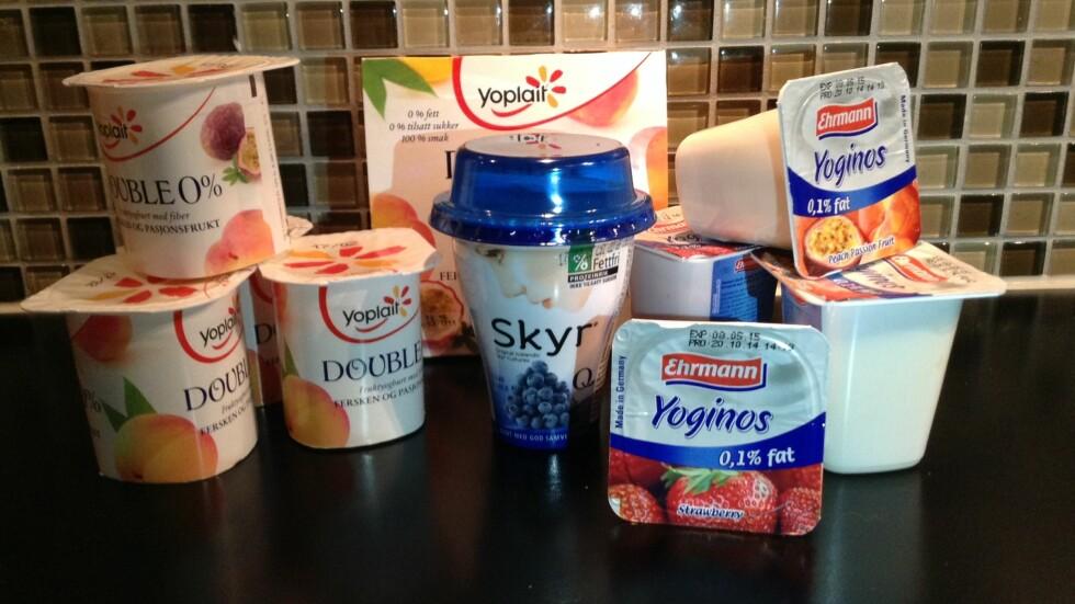 NULL: De lover null prosent sukker og fett, men hva inneholder de da? Foto: Stine Helén Tunstrøm