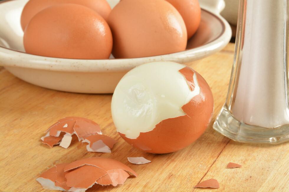 <strong>KOK DEM I OVNEN:</strong> Visste du at du kan lage perfekt hardkokte egg i ovnen? Smart hvis du skal lage til en stor frokost.  Foto: MSPhotographic - Fotolia