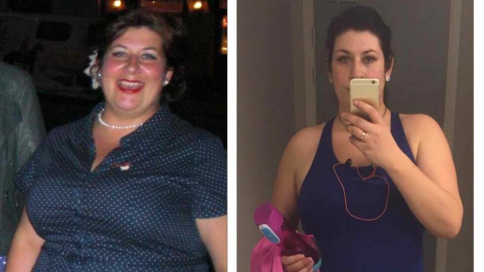 LA OM LIVET: For ett år siden la Linda Taaje om livet sitt, og hittil har hun gått ned hele 37 kilo!