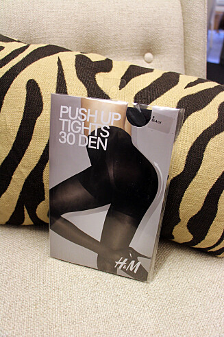 Push-up-tights (kr 99, H&M). Foto: Cecilie Leganger