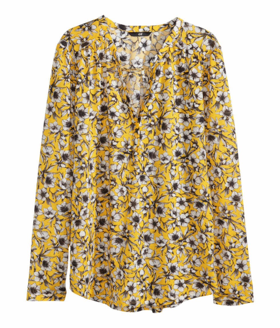 Bluse fra H&M, kr 99. Foto: Produsentene