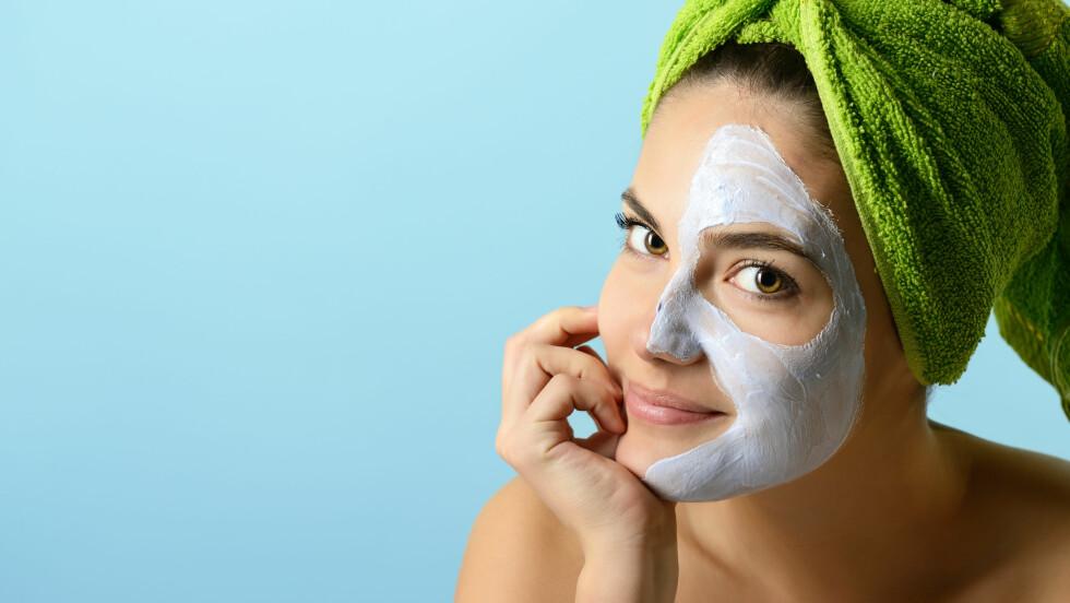 ANSIKTSMASKER: Sjekk hvilke 3 ansiktsmasker KKs skjønnhetsekspert anbefaler akkurat nå i saken nedenfor! Foto: Khorzhevska - Fotolia