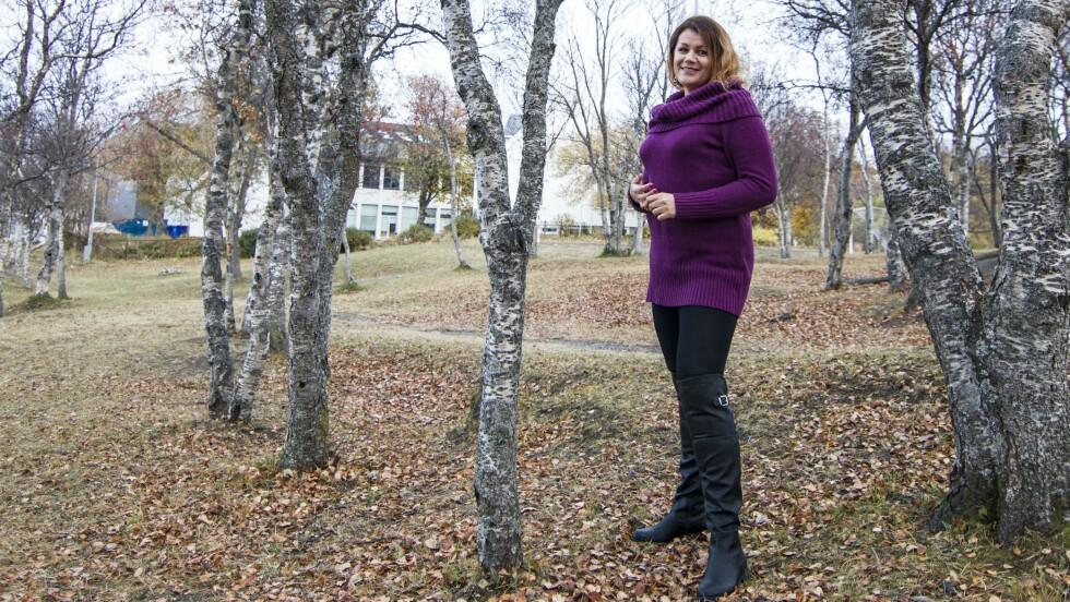 BYTTET NAVN: Hun het Anja R. Abrahamsen. Nå heter hun Anja R. Scarlett Abrahamsen. Foto: Inger Ellen Eftevand Orvin