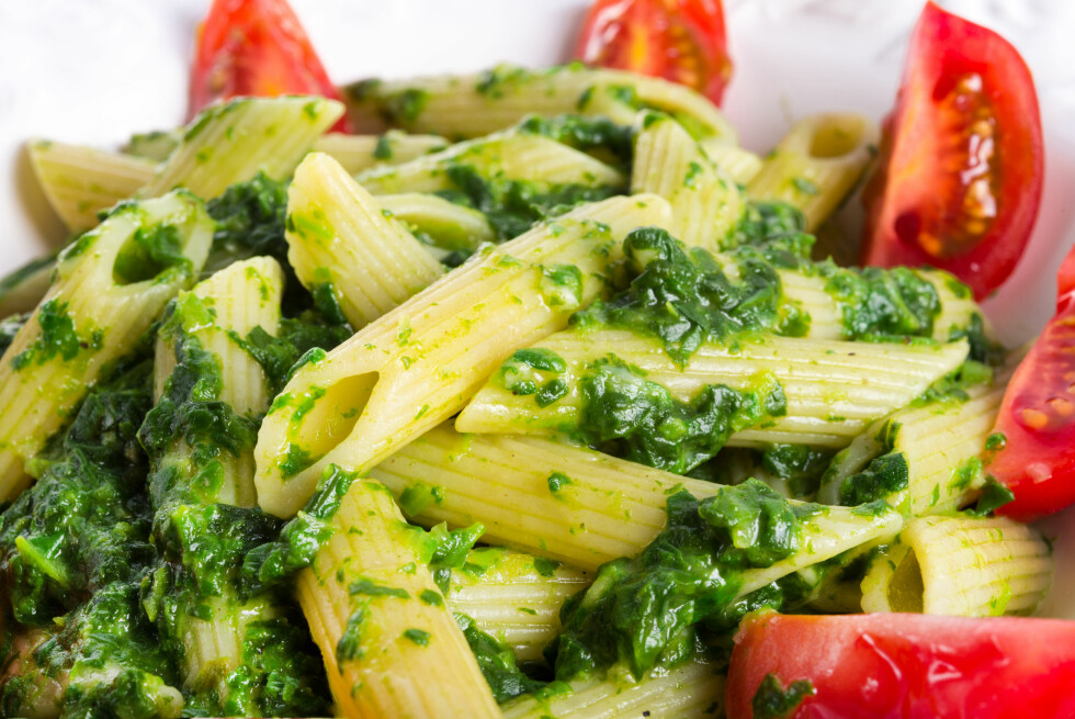 noodles with spinach Foto: Dar1930 - Fotolia