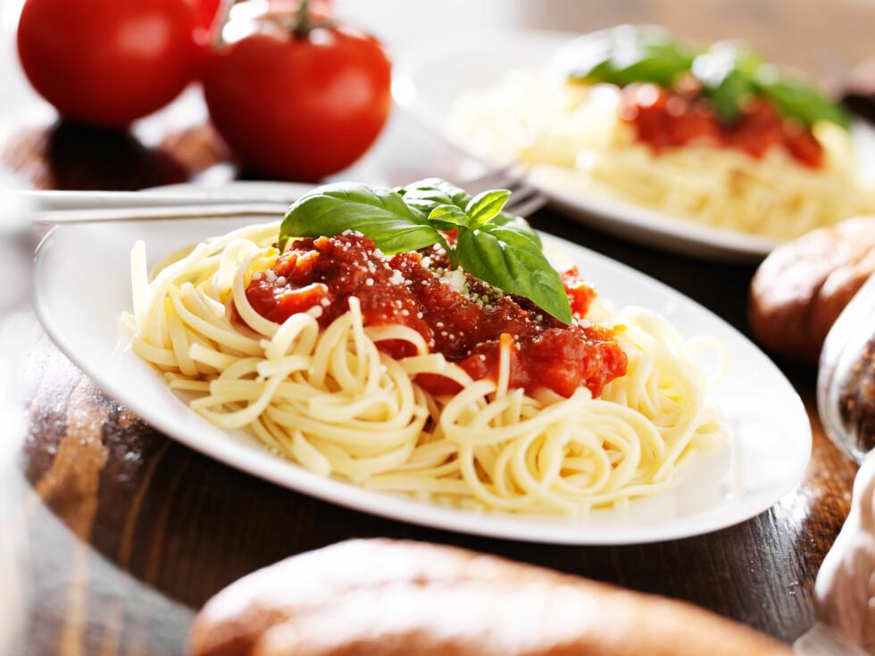 <strong>PASTA:</strong> Hender det ofte at pastaen blir overkokt? Det er kanskje ikke så rart. Til tross for anvisningen på pakken, så er det mange faktorer som avgjør hvor lenge den skal koke. Foto: Joshua Resnick - Fotolia