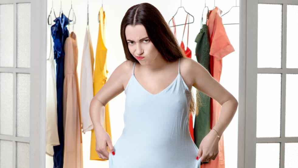 LEGGE PÅ SEG: Mange innbiller seg at de har lagt på seg mange mange kilo i julen. Ifølge eksperten er man sjeldent så tjukk som man tror.  Foto: rh2010 - Fotolia