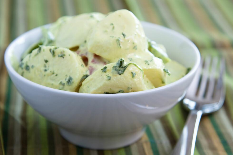 KALDE POTETER: Hva med å lage en potetsalat med kalde poteter?  Foto: Rohit Seth / Alamy/All Over Press