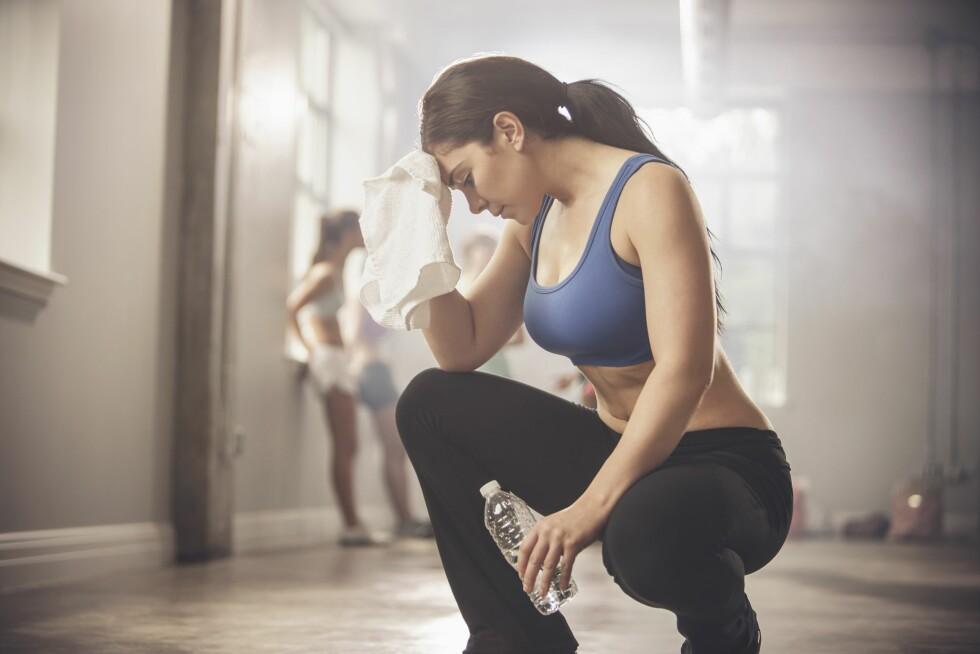 SLITEN: Å overdrive treningen er ikke bra for kropp og helse, og kan ofte føre til skader og utmattelse. Foto: (c) John Fedele/Blend Images/Corbis/All Over Press