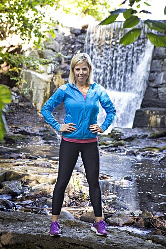 Anne Marte Sneve er KKs treningsguru.  Foto: KK-redaksjonen