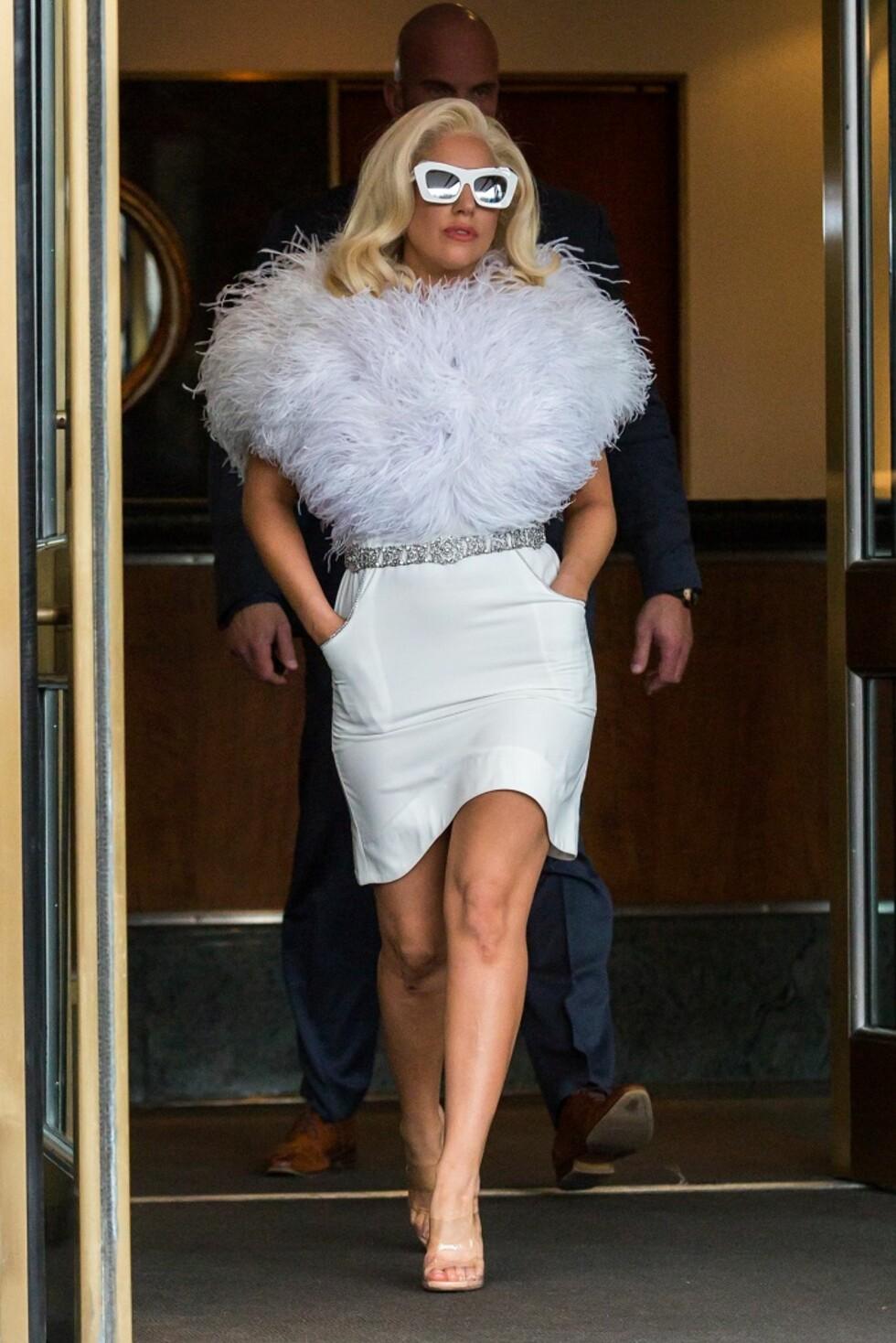 Lady Gaga pyntet seg som om hun skulle på Galla hver eneste dag i desember.  Foto: All Over