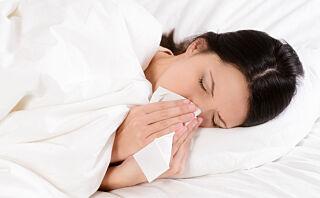 Influensa-sesongen er rett rundt hjørnet