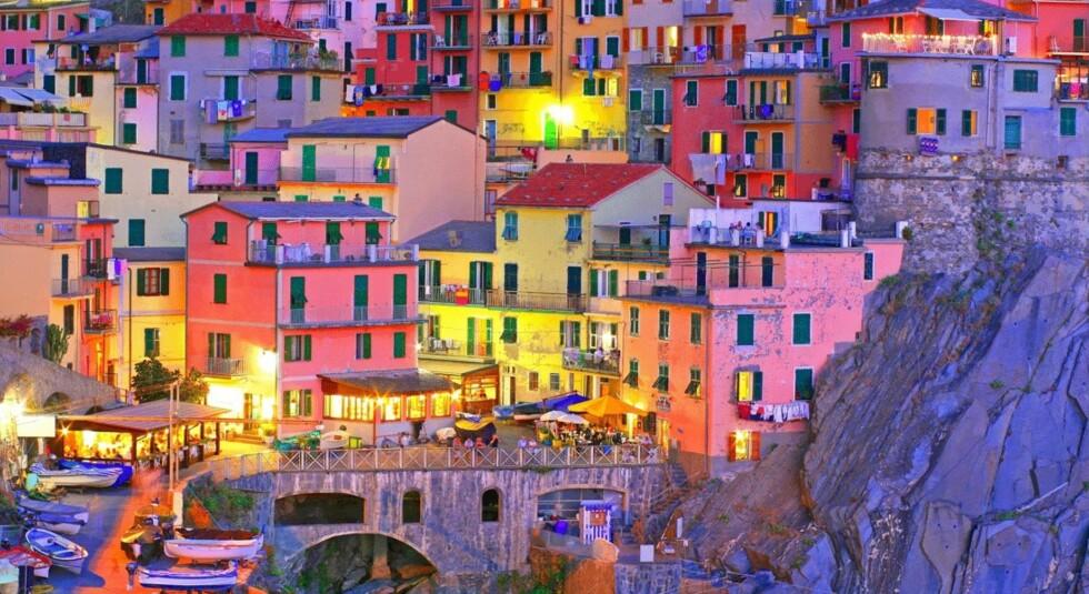 CINQUE TERRE: Bli med KK til den vakre kystregionen Liguria, nordvest i Italia. Foto: Fotolia