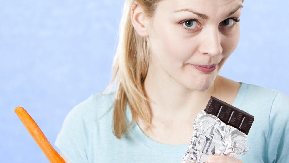 SØTSUG: Klarer du ikke velge bort sjokoladen etter jul? Det er ikke så rart...
