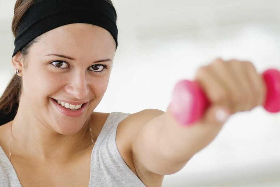 TREN STYRKE: Å bygge mer muskler gjør ikke nødvendivis at vekta går ned, men kroppen blir mye fastere. Foto: Colourbox