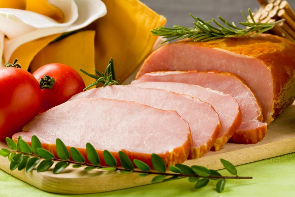 JULESKINKE: Et magrere valg enn mange andre kjøttpålegg, bare vær klar over at det inneholder en del salt.  Foto: All Over Press