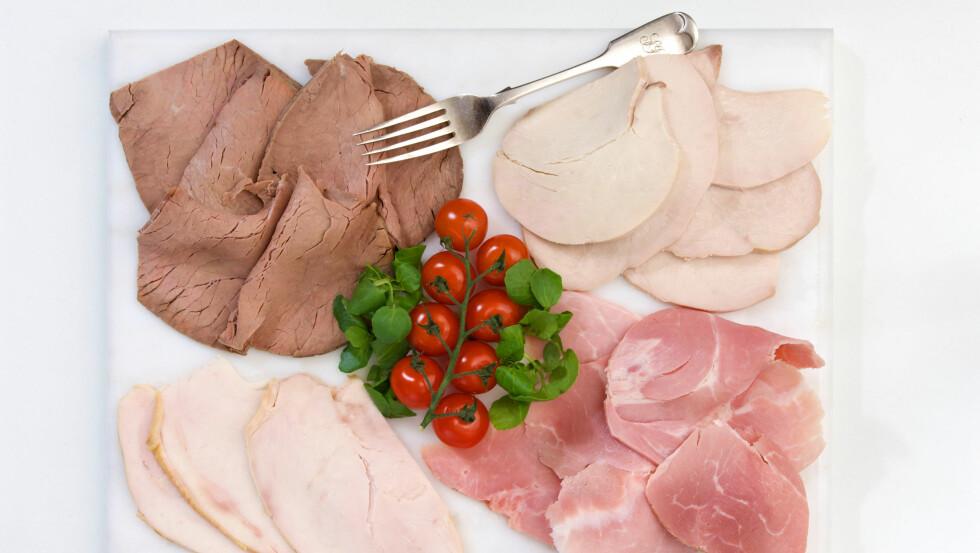 MAGRE KJØTTPÅLEGG: Rene kjøttpålegg er blant anbefalingene fra ernæringsfysiologene. Foto: All Over Press