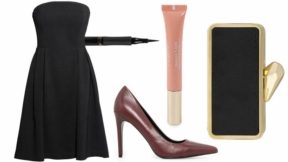 UNNGÅ KLESKRISEN: Finn frem den lille svarte kjolen til nyttårsfesten!  Foto: Produsentene, Net-a-porter.com