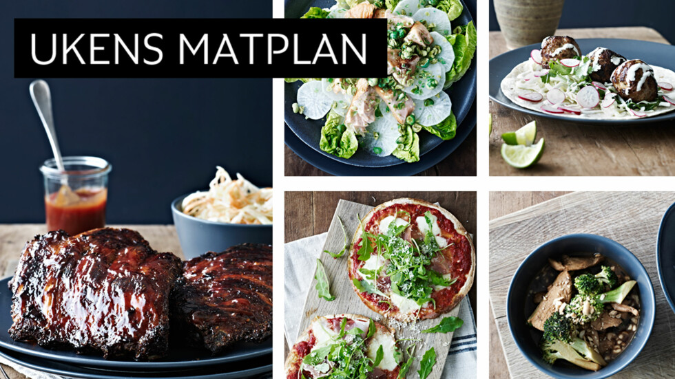 LEKKERT: Hva med wasabi i salaten, pizza på et kvarter eller deilige BBQ-ribs med coleslaw? Foto: All Over Press
