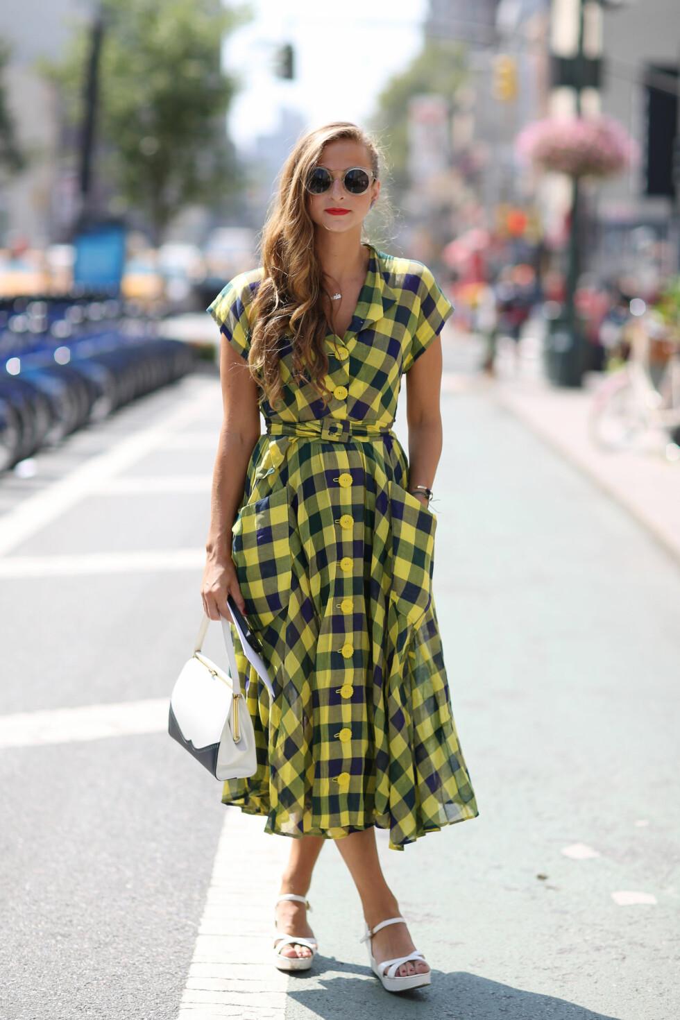 Rutene blir å se på blant annet kjoler til neste år. Foto: All Over
