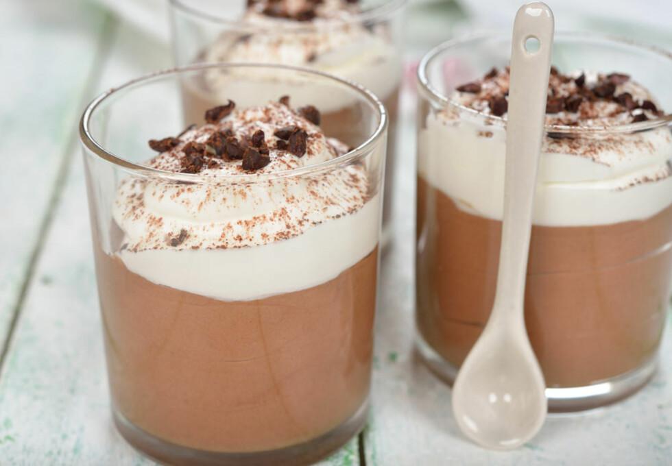 Denne sjokoladepuddingen kan du unne deg med god samvittighet