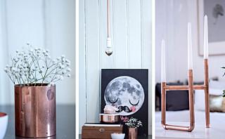 Dekorer hjemmet ditt med kobber