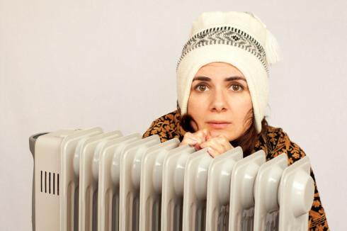FRYSEPINN? Har du en indre kulde? Det kan også være et av flere tegn på at du har lavt stoffskifte.  Foto: Fotolia