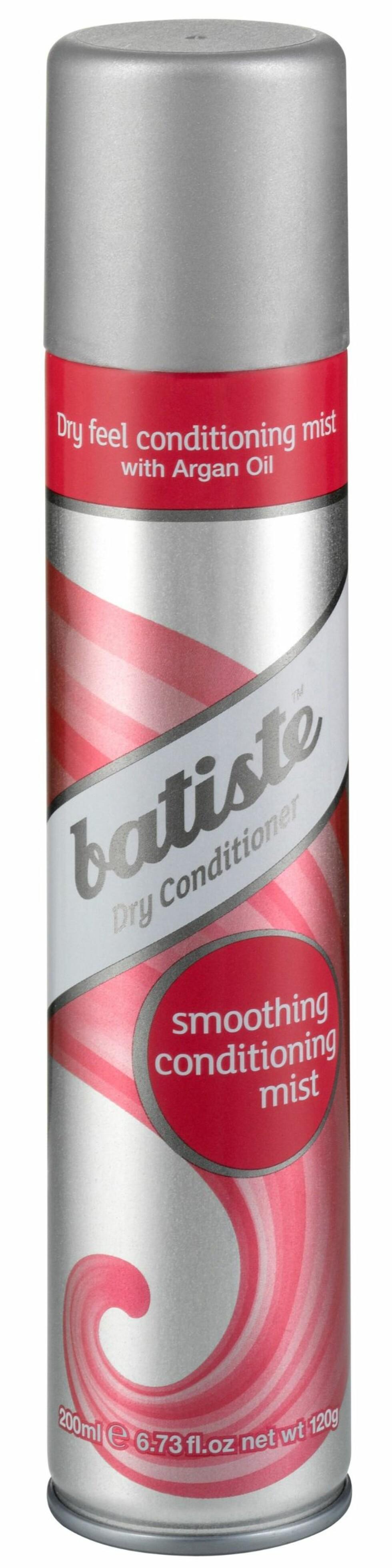 Dry Conditioner Mist fra Batiste, kr 79,50. Foto: Produsenten