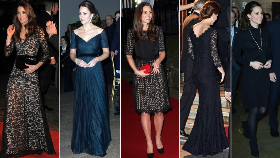 KATE MIDDLETON: Snitt, knelengder, bruk av tilbehør, kunsten å balansere en klft - ja, det er mye vi kan lære av hertuginne Kates klesstil. Foto: All Over Press