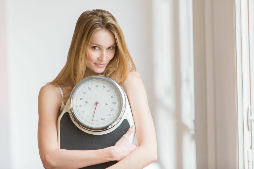 PÅ VEKTA: Trodde du slanking ga deg høyere forbrenning? Tro om igjen. Et hvert forsøk på å slanke seg ved å spise lite vil kunne senke forbrenningen din. Foto: REX/Garo/Phanie/All Over Press